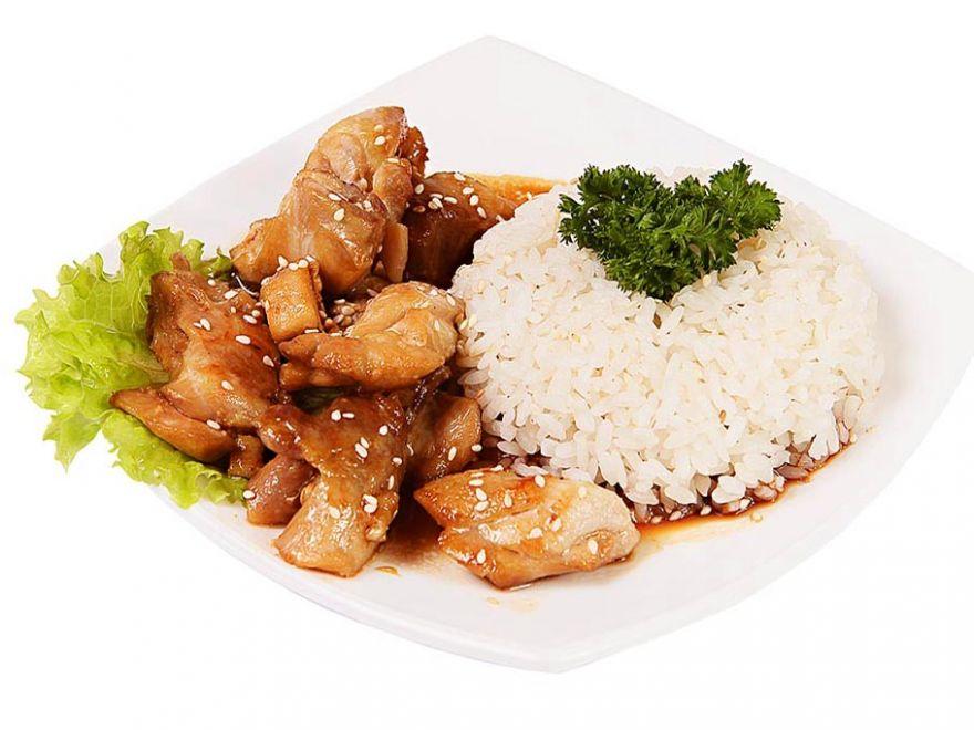 Курица в соусе «Терияки»