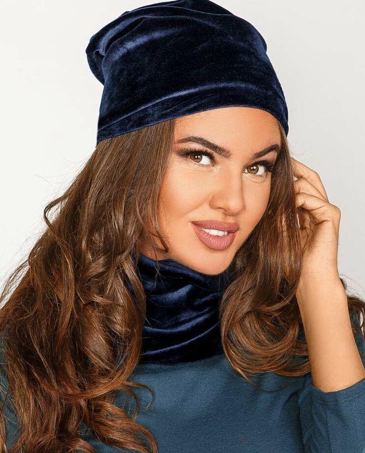 Комплект шапка-бини