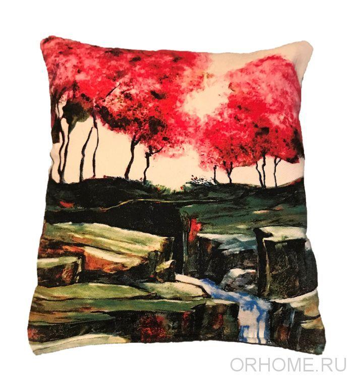 """Декоративная подушка """"Природа"""""""