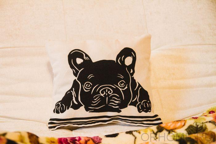 """Декоративная подушка """"Пёс"""""""