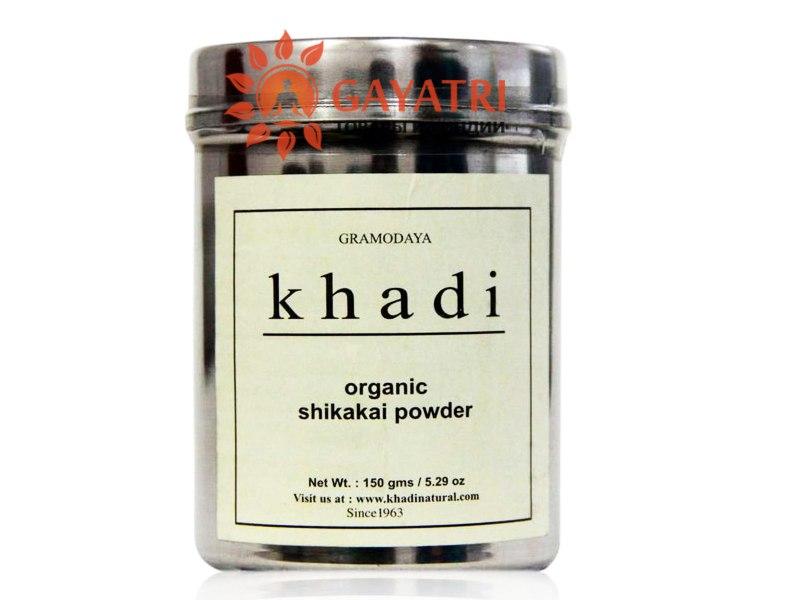 Шикакай , натуральное средство для ухода за телом, 150 г  от компании KHADI Organic Shikakai Powder, 150 gm