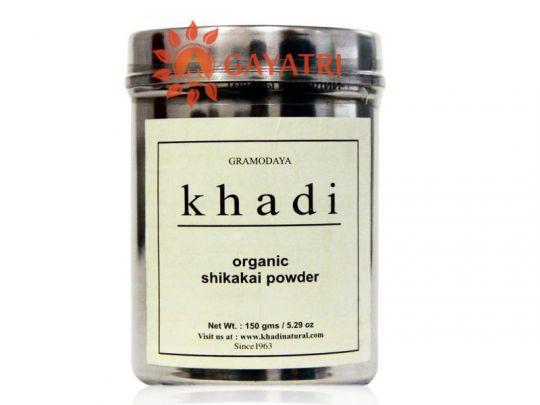 Натуральный аюрведический порошок Шикакай  от компании KHADI Organic Shikakai Powder