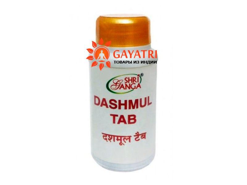 """АЮРВЕДИЧЕСКИЙ ПРЕПАРАТ  """"ДАШАМУЛ"""" 100 таб. производитель Шри Ганга Dashmul Tab Shri Ganga 100 таб."""