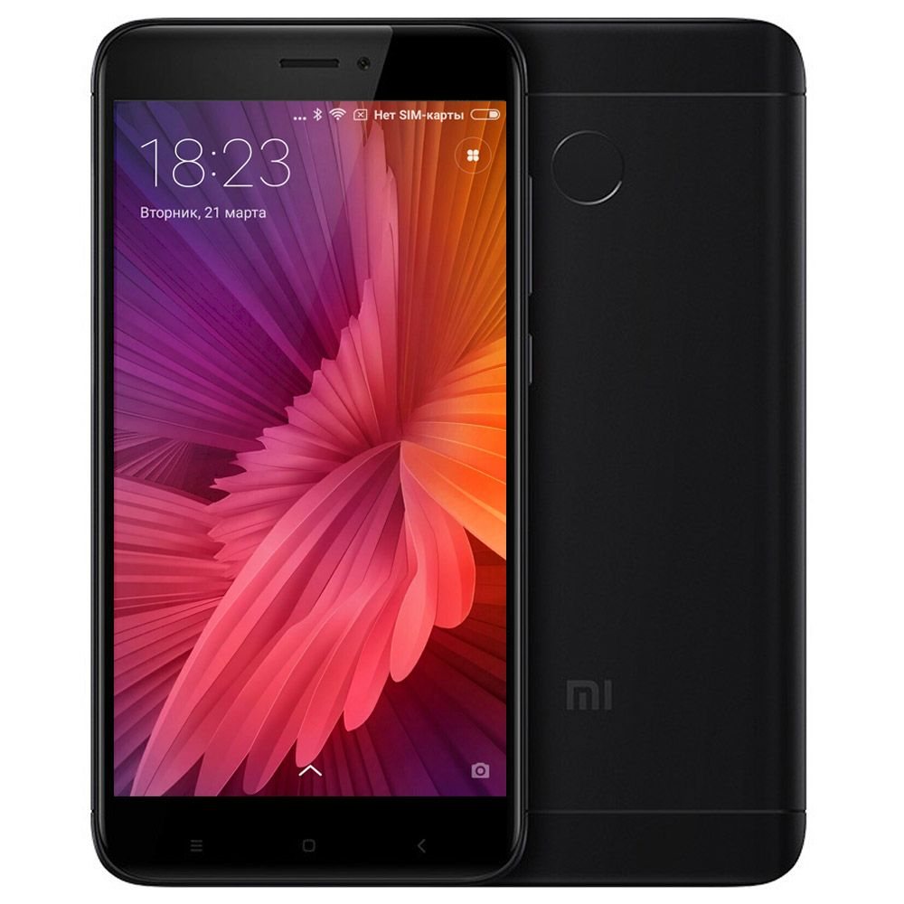 Xiaomi Redmi 4X 3/32gb Черный