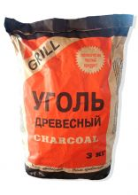 Уголь древесный 3кг