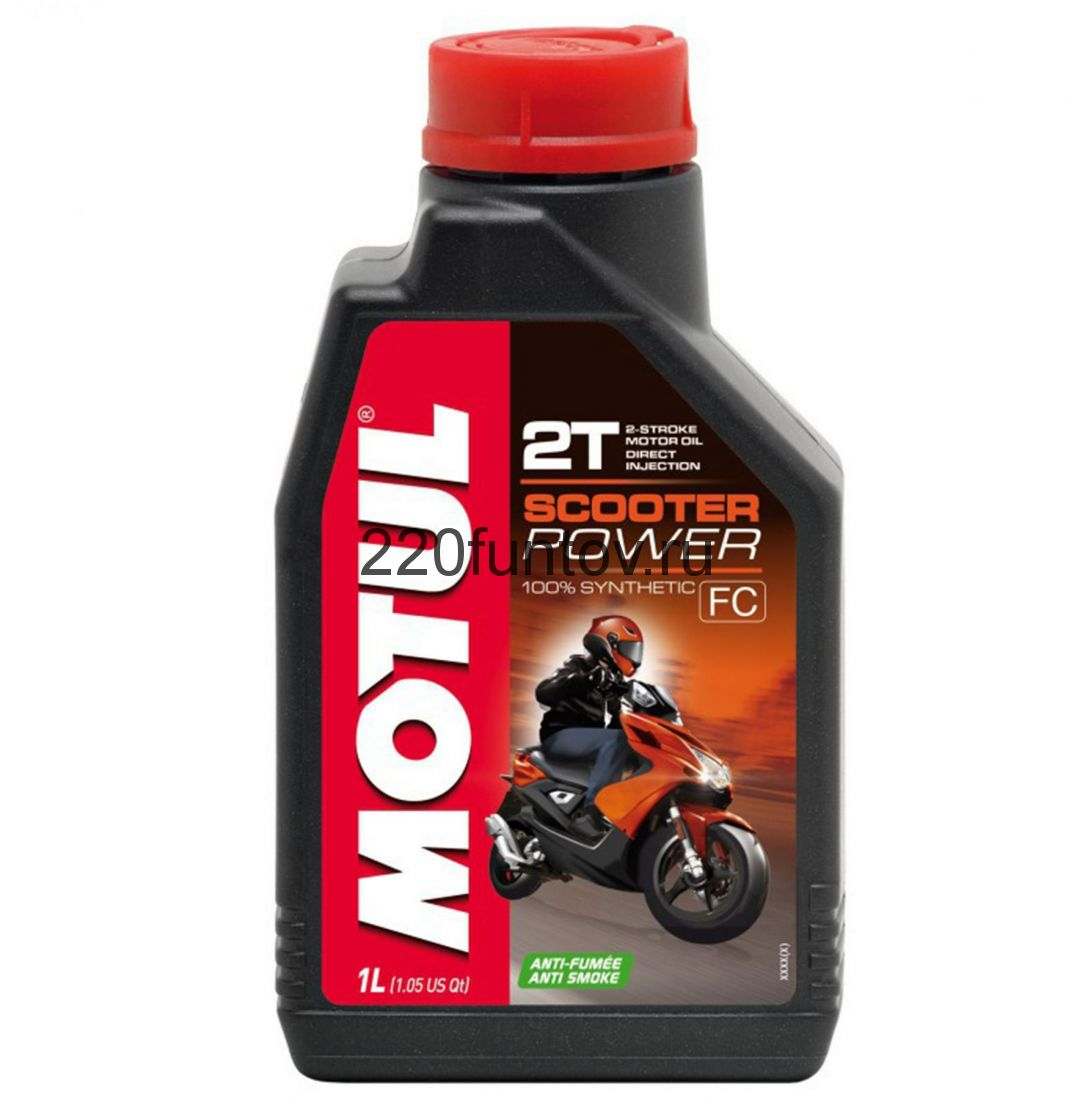 Масло моторное MOTUL Scooter Power 2T