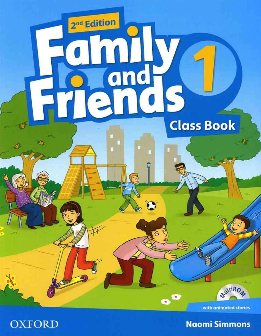 Family and Friends 1 2nd Class Book & Workbook with MultiROM