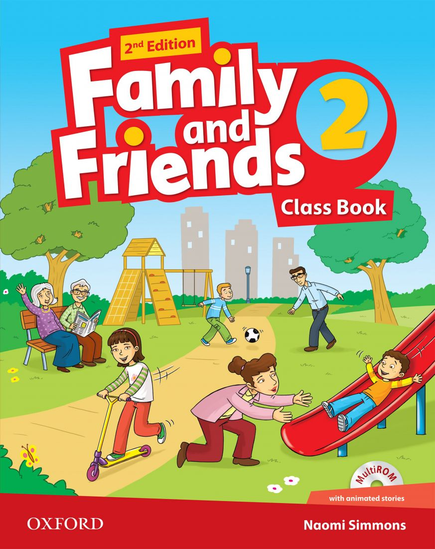 Family and Friends 2 2nd Class Book & Workbook with MultiROM