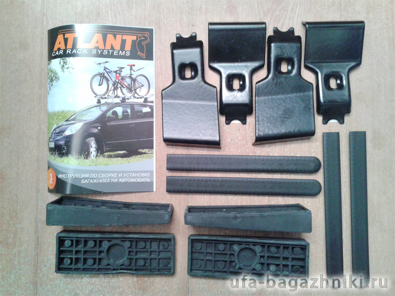 Адаптеры для багажника Chevrolet Cruze, Атлант, артикул 8613