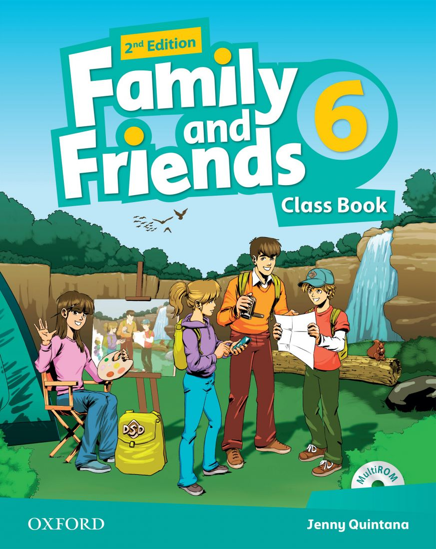 Family and Friends 6 2nd Class Book & Workbook with MultiROM