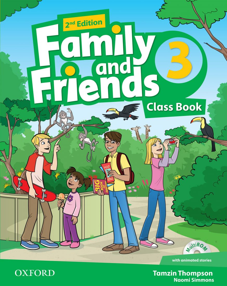 Family and Friends 3 2nd Class Book & Workbook with MultiROM