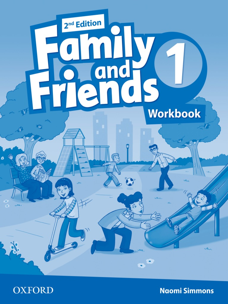 Family and Friends 1 2nd Workbook with MultiROM