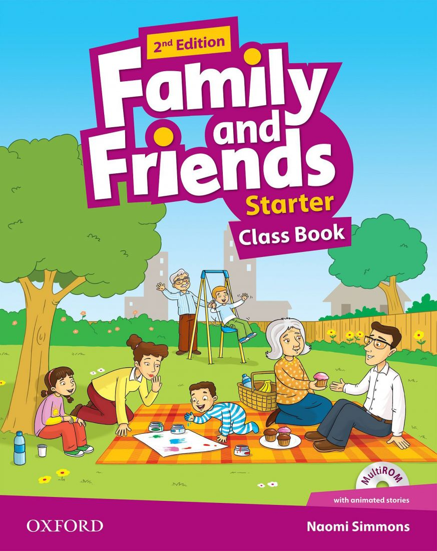 Family and Friends Starter 2nd  Class Book & Workbook with MultiROM