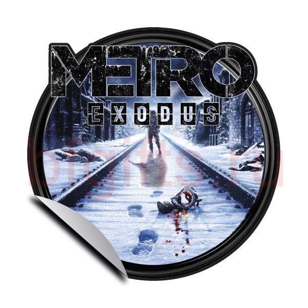 Наклейка Метро 2033 Exodus