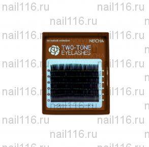 """Ресницы """"NEICHA"""" MINI MIX dark brown C 0,15 (09,11,13)"""