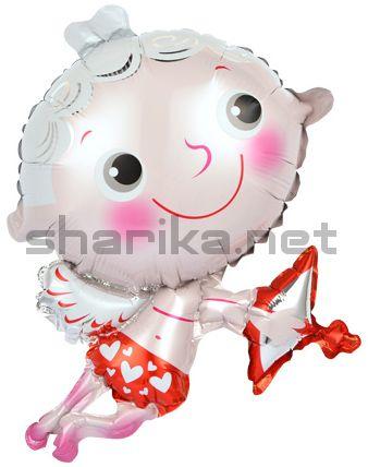 Фольгированный шар Мини-фигура, Ангел (не летает)