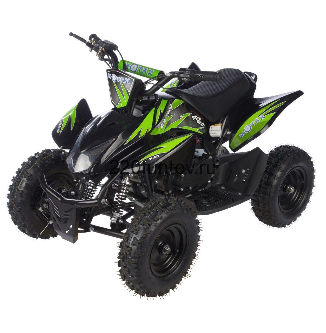 MOTAX ATV Х-15 в стиле Honda TRX электростартер Квадроцикл бензиновый
