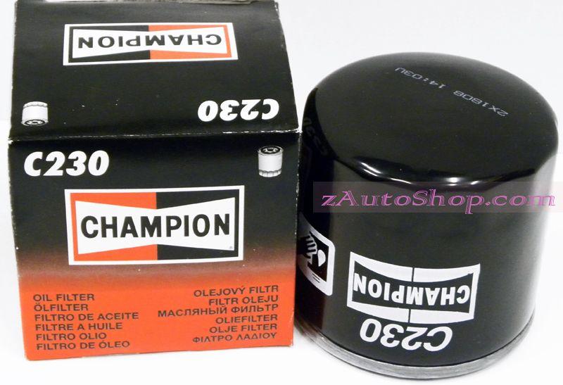Фильтр масляный  ВАЗ-2108, Ока (CHAMPION) С230/606 а-344