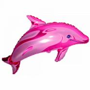 """Дельфинчик, розовый, 39""""/ 99 см"""