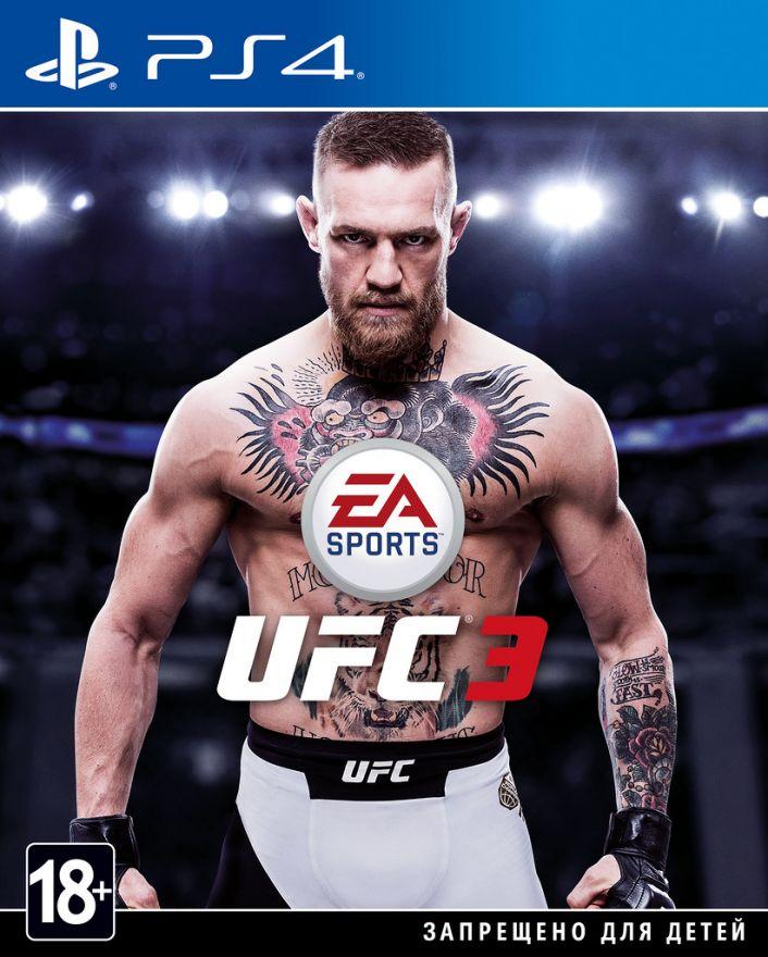 Игра UFC 3 (PS4)