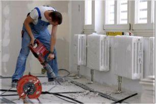 Монтаж оборудования и систем отопления