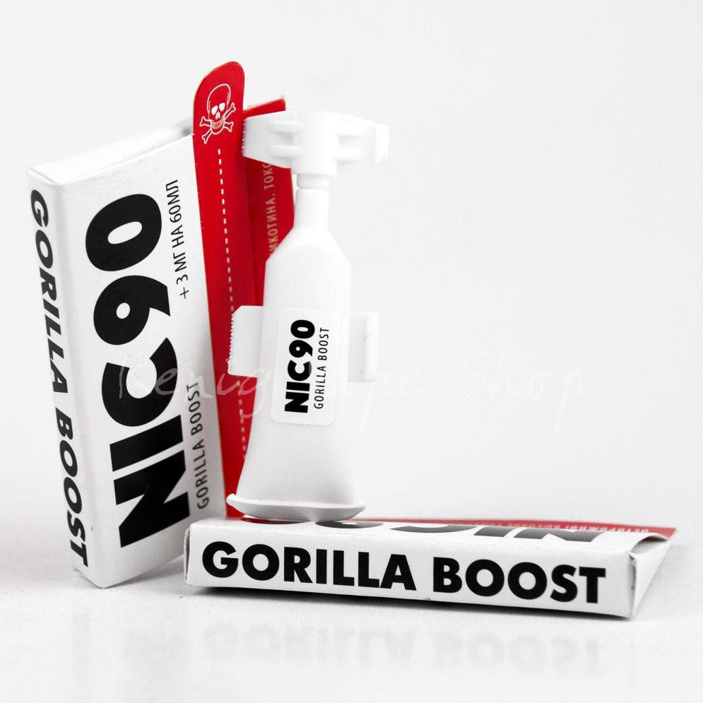 Усилитель крепости NIC90 Gorilla Boost (3мг на 60мл)