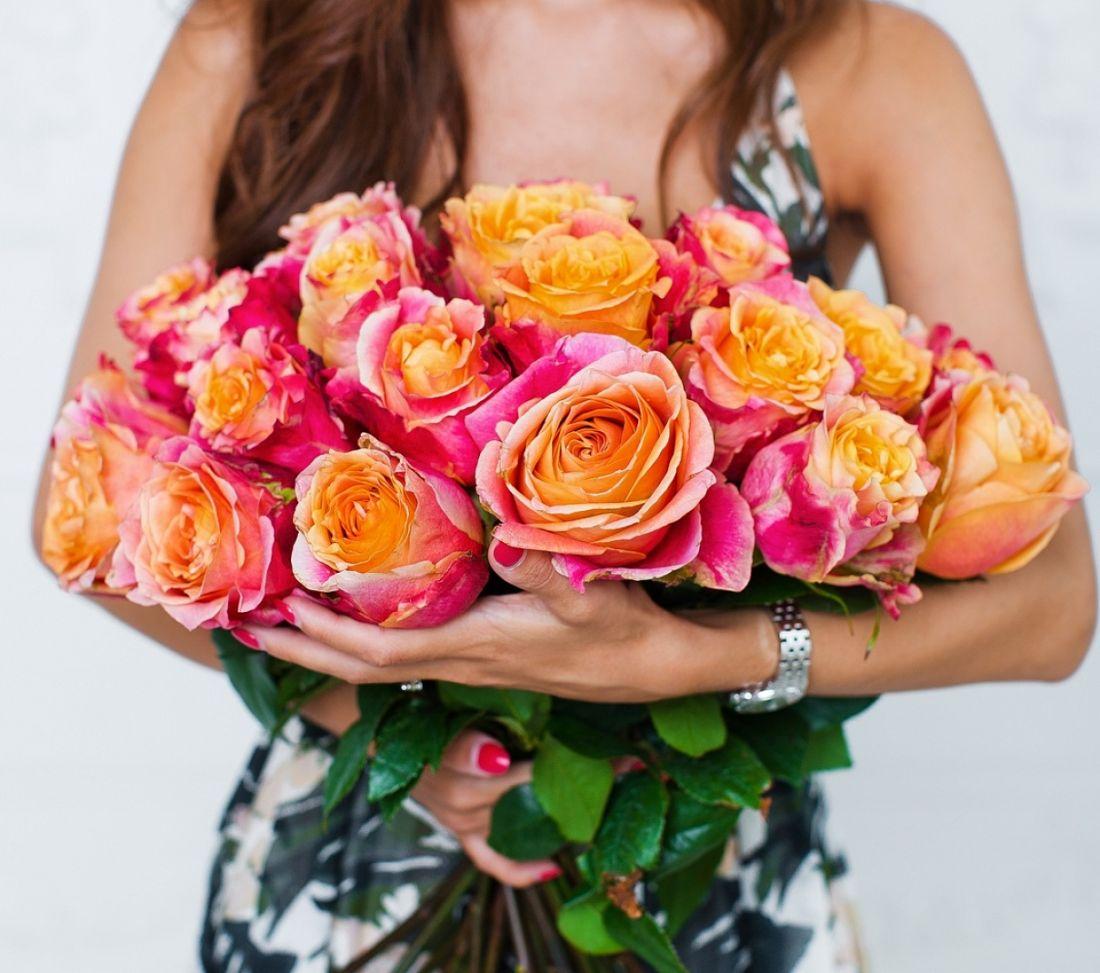 21 роза 3D
