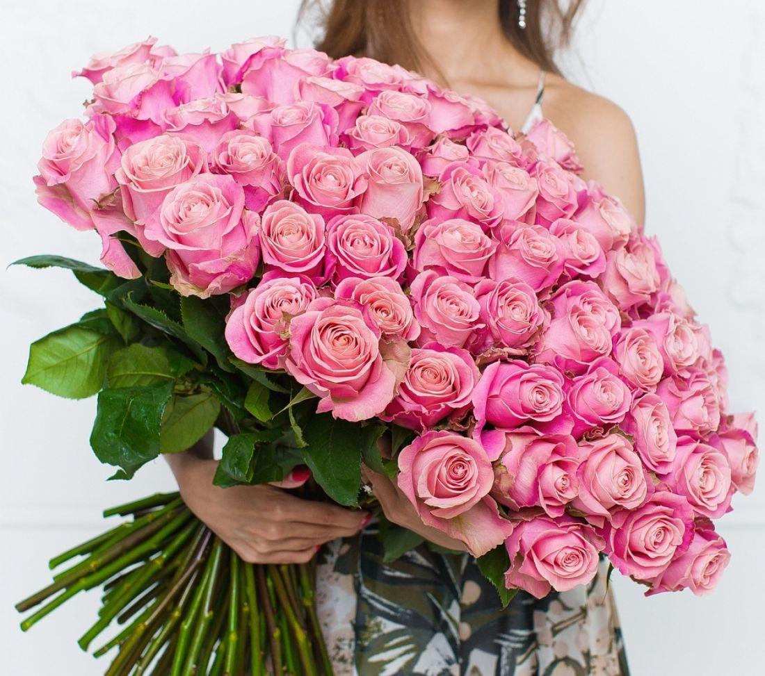 101 роза Hermosa