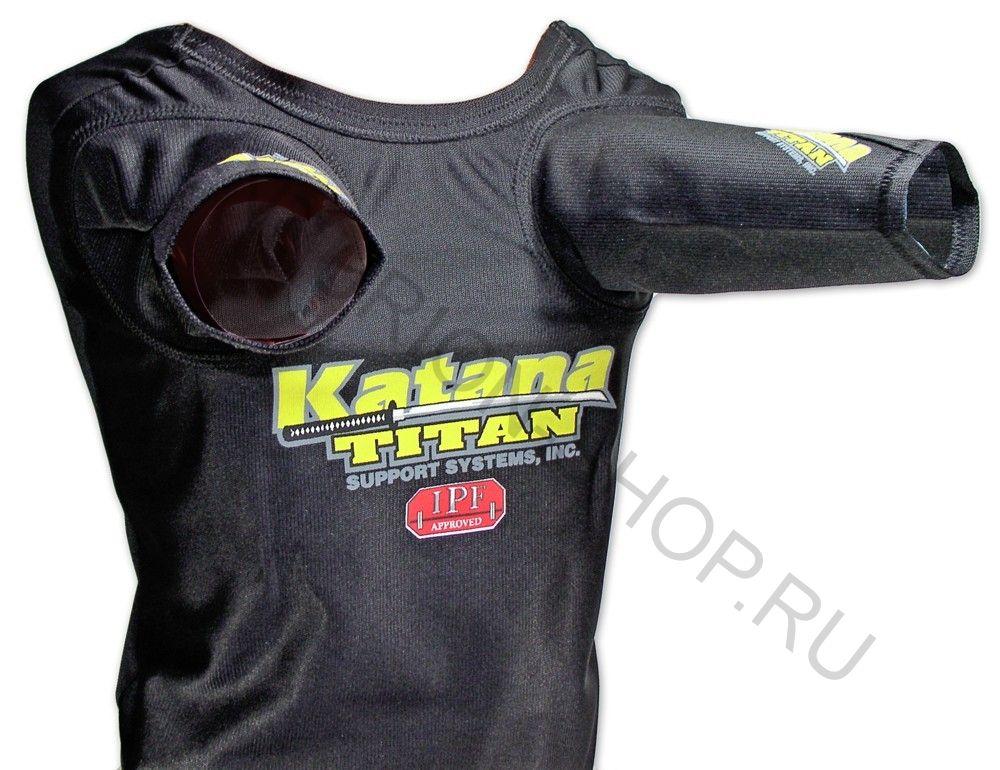 Майка для жима TITAN SUPER KATANA S/S NXG Super+