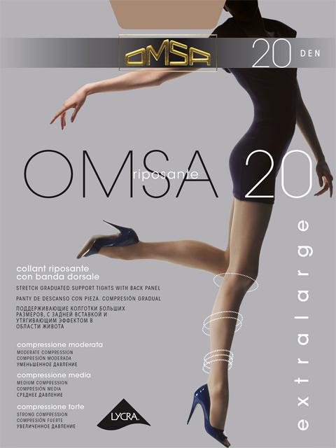 Колготки OMSA 20 XL Omsa