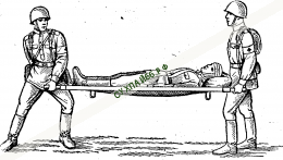 НОСИЛКИ САНИТАРНЫЕ складные ★ Способ использования: 2 человека