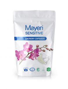 Капсулы для стирки цветного и белого. Гипоаллергенные. Mayeri Sensitive 16 шт.