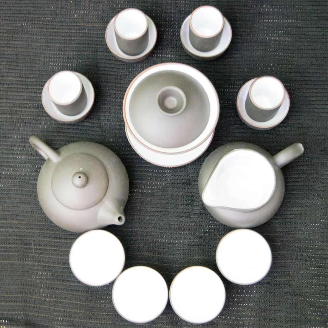 Чёрный набор для Гунфу ча