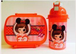 Ланч бокс и бутылочка для напитков Little Princess