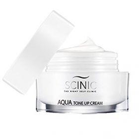 SCINIC Aqua Tone Up Cream 50ml - Увлажняющий крем с осветляющим эффектом