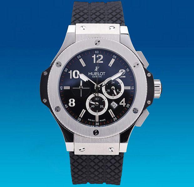 Мужские наручные часы с логотипом Hublot Big Band