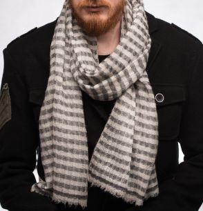 Мужской кашемировый шарф (Москва)