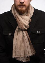 Теплый мужской шарф из 100% кашемира (Москва)
