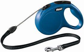 Flexi рулетка New Classic трос 8 м синяя