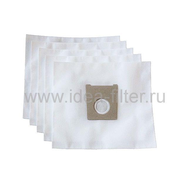 IDEA BS-01 мешки для пылесоса BOSCH typ G - 5 шт синтетические одноразовые