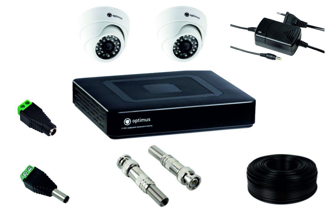 Комплект для установки 2-х видеокамер внутреннего исполнения