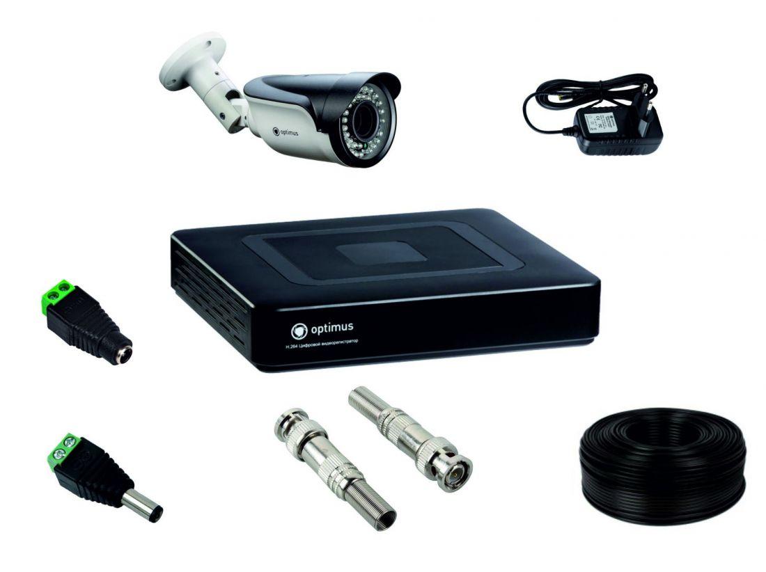 Комплект для установки 1 уличной видеокамеры