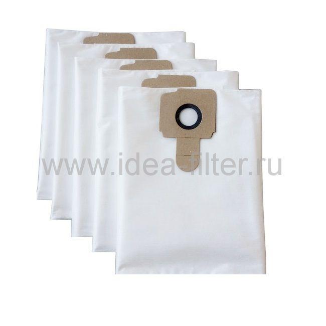 IDEA K-09 - мешки синтетические для пылесоса KARCHER T201 - 5 штук