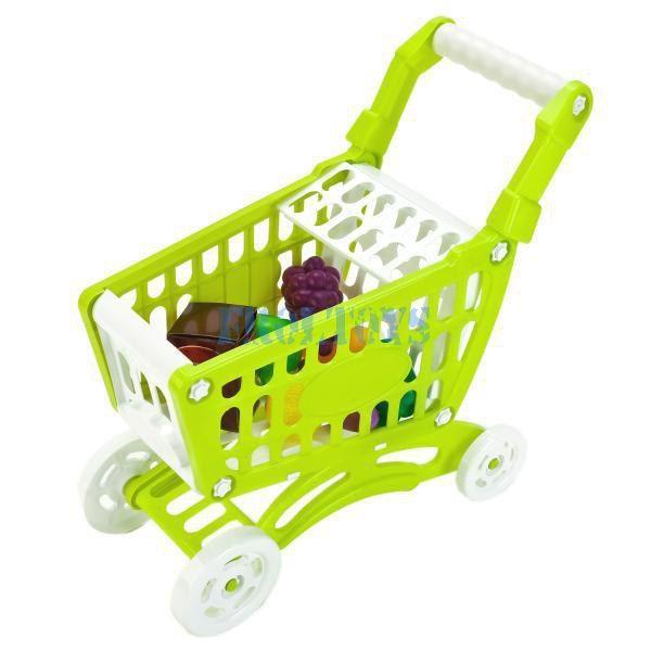 Тележка с продуктами игрушка