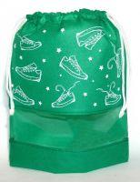МO1 Кеды со звездами, зеленый
