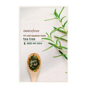 It's Real Squeeze Mask Tea Tree 20ml - Маска с натуральным соком листьев чайного дерева