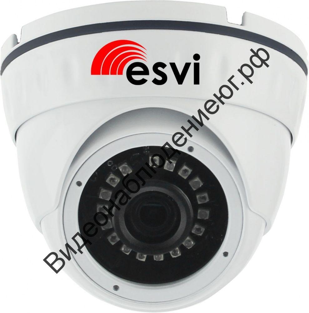 Купольная IP видеокамера EVC-DN-F20-A