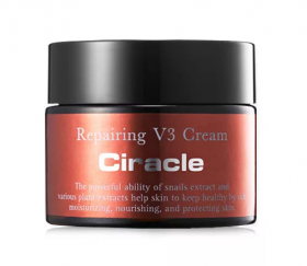 Ciracle Repairing V3 Cream 50ml - восстанавливающий крем для лица улиточный