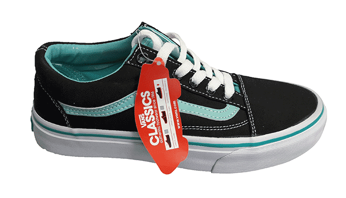 Кеды VANS Old Skool VO1 cyan