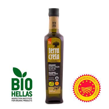 Оливковое масло Terra Creta - 500 мл Organic экстра вирджин PDO